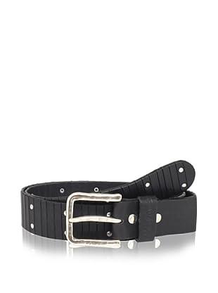 Robert Graham Men's Howell Leather Belt (Black)