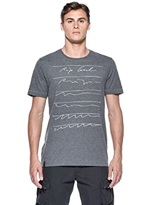 Rip Curl T-Shirt Scribbles S/S Tee (Grigio)