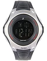 Fastrack Digital White Dial Men's Watch - 4038PP02