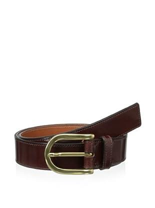 Bosca Men's Old Familiar Belt (Dark Brown)