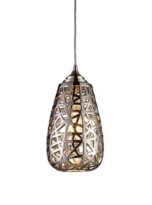 Artistic Lighting Nestor 1-Light Pendant, Chrome