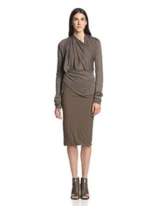 Rick Owens Lilies Women's Multi-Wrap Top (Dark Dust)