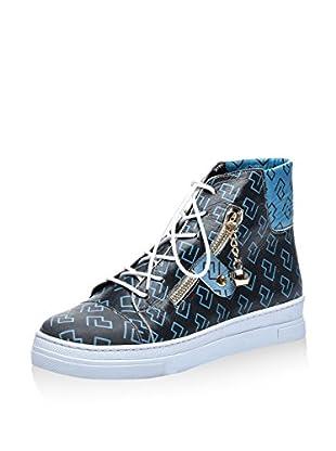 Los Ojo Hightop Sneaker Manno