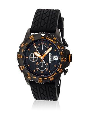 Breed Reloj con movimiento cuarzo japonés Brd6307 Negro 42  mm