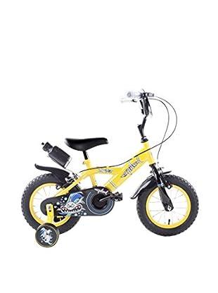 Schiano Cicli Bicicleta 12 Shark 01V. Amarillo