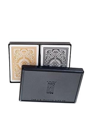 Trademark Global 2-Pack Arrow Black & Gold KEM Wide Jumbo Cards, Multi