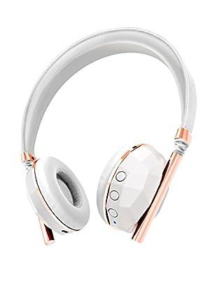 Caeden Linea Nº10 Bluetooth Wireless Headphone, Faceted Ceramic/Rose Gold