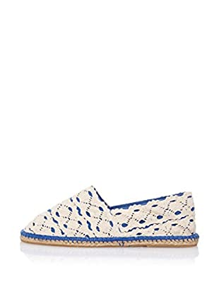 LP Alpargatas Crochet (Azul Royal)