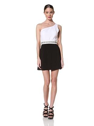 Jay Godfrey Women's Pablo One Shoulder Slim Dress
