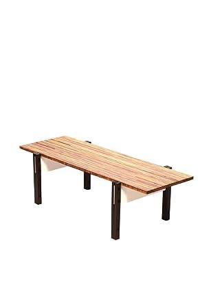 nine6 Design Neopolitan Coffee Table, Bamboo/White