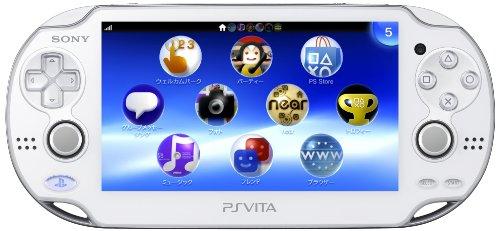 PlayStation Vita (プレイステーション ヴィータ) Wi‐Fiモデル クリスタル・ホワイト (PCH-1000 ZA02)