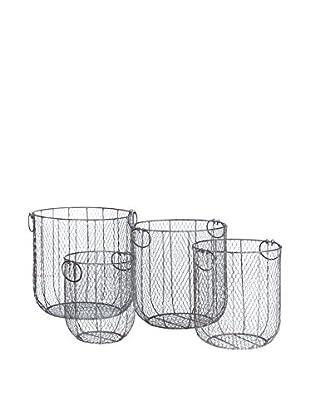 Concept Luxury Behälter für Küchenhelfer 4er Set naturweiß