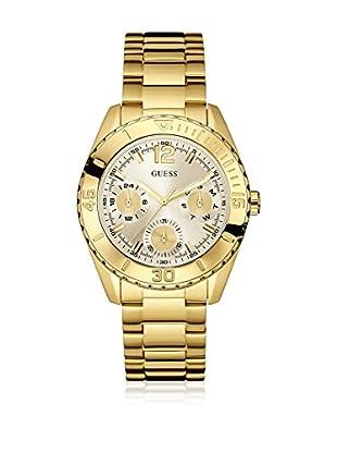 Guess Uhr mit japanischem Mechanikuhrwerk Woman Destiny Gold Tone goldfarben 40 mm