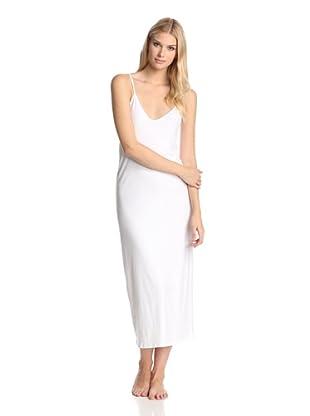 SKIN Women's Double Jersey Slip (White)