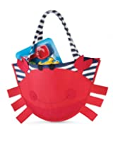 Mud Pie Surf's Up Beach Bag with Toys, Crab (Discontinued by Manufacturer)