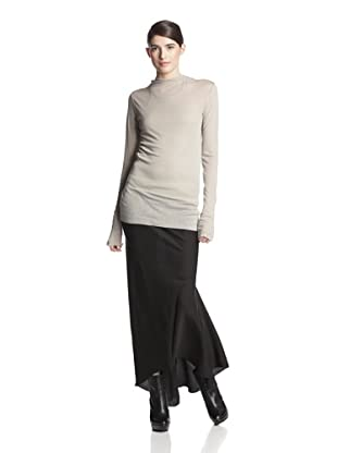 Rick Owens Women's Hooded T-Shirt (Pearl)