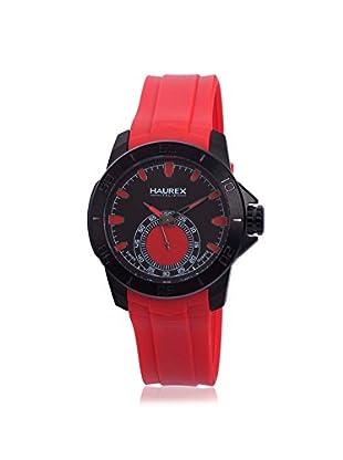 Haurex Men's 3N503URR Acros Red/Black Rubber Watch