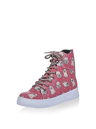 Los Ojo Hightop Sneaker Pugs