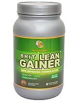 Brit Nutritions Brit Lean Gainer Powder- 1 KG, Chocolate/Vanilla