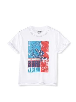 iNTAKT Boy's Surf Legend Tee (White)