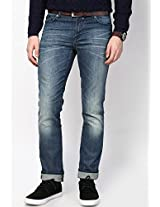 Blue Skinny Fit Jeans