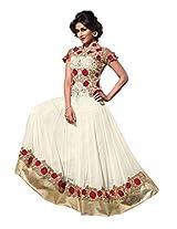 Adah Un-Stitched Georgette Designer Un-Stitched Salwar Kameez- 510-7607