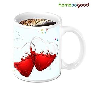 HomeSoGood Two Half Filled With Not Feeling Good Coffee Mug