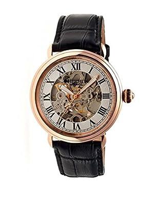 Heritor Automatic Uhr Ossibus Herhr1705 schwarz 47  mm