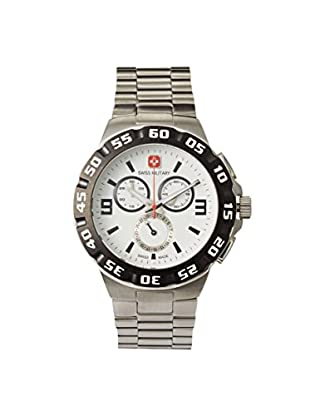 Swiss Military Calibre Men's 06-5R2W Chronograph Silver/White Stainless Steel Watch