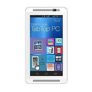 Milagrow M2 Pro Tablet (8GB, WiFi, 3G, Voice Calling, 8GB), White