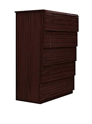 Furniture Contempo Nelly Chest of Drawers, Wengee