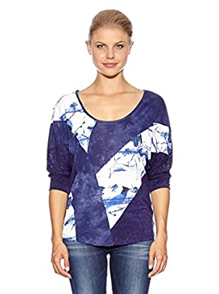 Anna Scott Camiseta Punch (Azul)