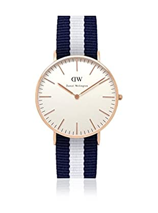 Daniel Wellington Reloj con movimiento cuarzo japonés Woman Classic Glasgow 36 mm