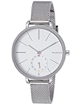 Skagen Hagen Analog White Dial Women's Watch - SKW2358I