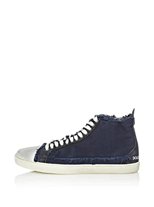 Dolce&Gabbana Zapatillas Lona Puntera Reforzada (Azul Marino)