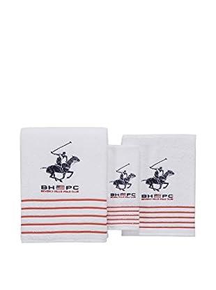 Beverly Hills Polo Club Set, 3 teilig (weiß)