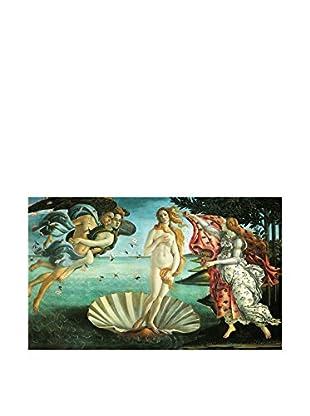 LegendArte Panel Decorativo Sobre Lona La Nascita Di Venere 60X100 Cm Multicolore