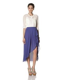 Pinkyotto Women's Cha Cha Skirt (Royal Blue)