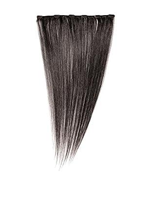 Love Hair Extensions Clip-In Haarverlängerung 100% Echthaar, Farbe 1B Natural Black