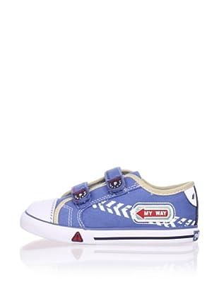 Pablosky Kid's Embellished Sneaker (Jeans)
