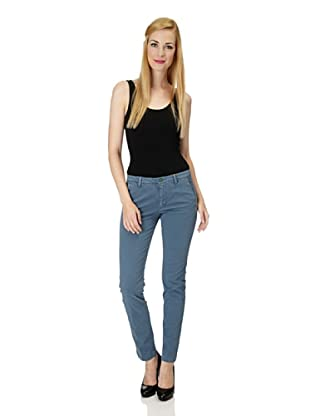 7 for all Mankind Chino Roxanne Skinny Fit (Blau)