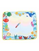 Baby Children Water Painting Mat Board Bear Doodle Toy Pen (#1)
