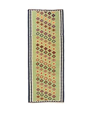 RugSense Alfombra Persian Kashkai Verde/Multicolor 293 x 106 cm