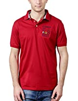 Allen Solly Cotton Regular Fit Polo Neck T-Shirt