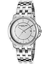 Raymond Weil Analogue Silver Dial Men's Watch - 5591-ST-30001