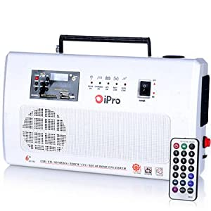 iPro Heavy Duty CFL Inverter with FM Radio, USB, SD Card Reader and Remote Control