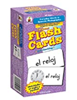 8 Pack CARSON DELLOSA FLASH CARDS EVERYDAY WORDS IN