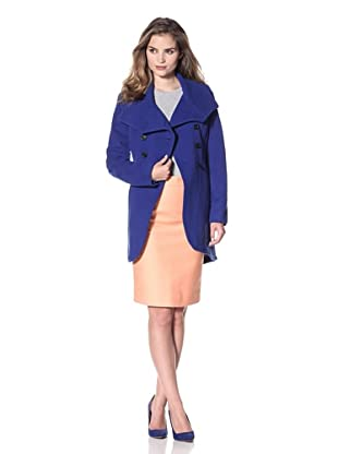 Marc New York Women's Power Double-Breasted Jacket (Cobalt)