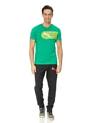 Puma T-Shirt Large Logo Graphic (viridis-white)