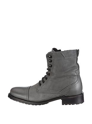 Buffalo London 8006-8115 SAX WAX 119785 - Botas de cuero para mujer (Gris)